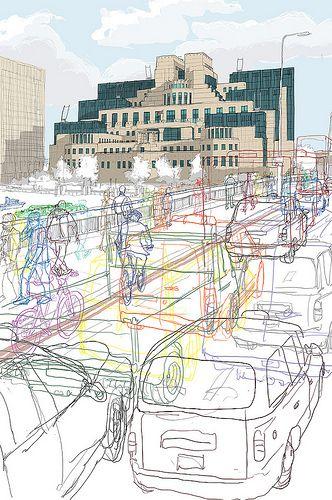 Secret London MI6 2012. Chosen for Serco Prize. London Transport museum