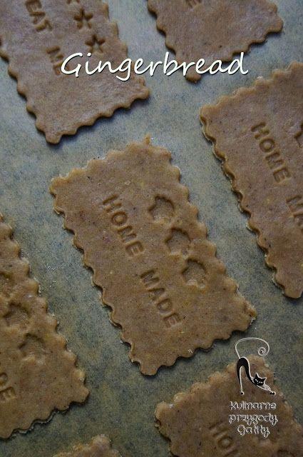 Kulinarne przygody Gatity: Ciasteczka imbirowe golden gingerbread