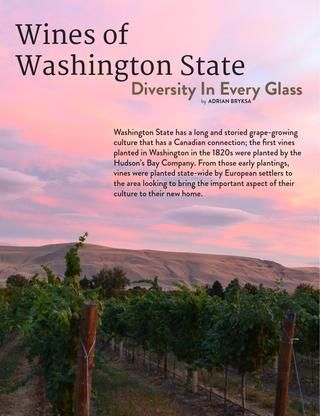 Wines of Washington State - Culinaire #2:9 (march 2014)  http://issuu.com/culinairemagazine/docs/culinaire__2_9__march_2014_/52