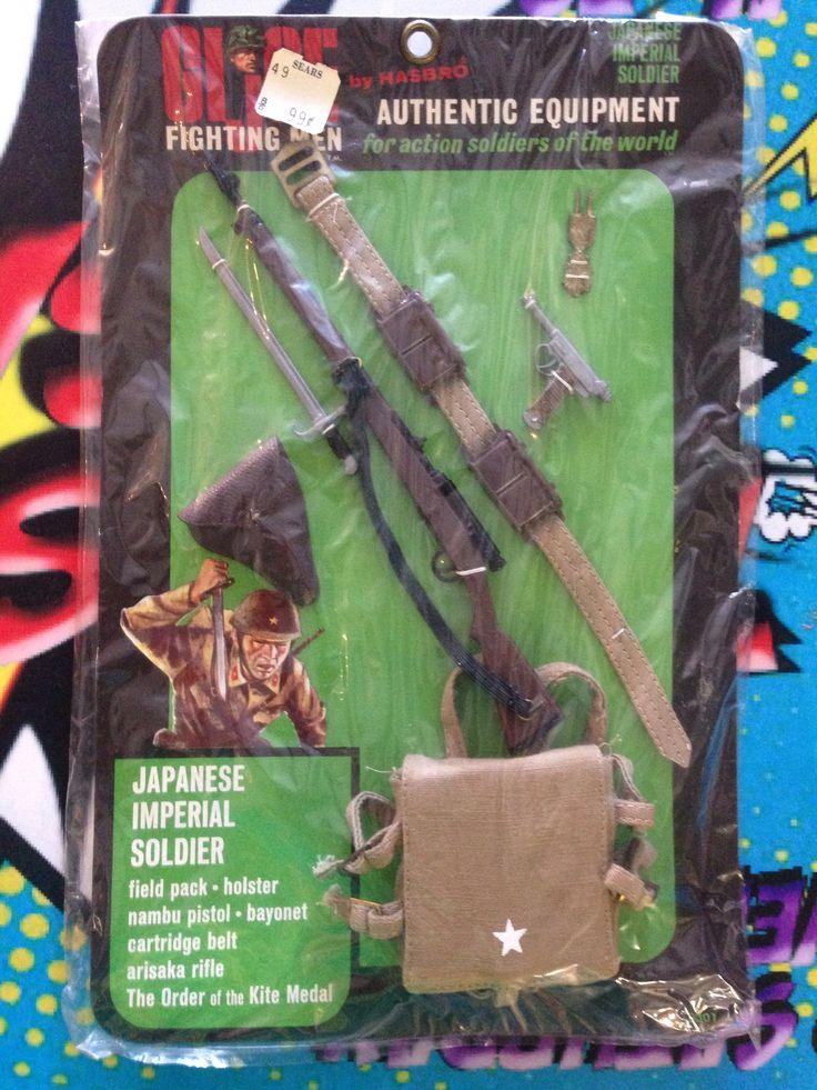 Hasbro G.I. Joe Fighting Men Japanese Imperial Soldier Field Pack