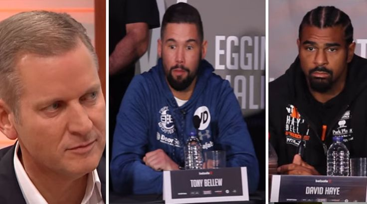BOXING history was made yesterday after British boxers, Tony Bellew and David Haye thrashed out a super pay per view deal to fight on the Jeremy Kyle show, it has been reported.   #David Haye #Jeremy Kyle #pay per view #rematch #Tony Bellew