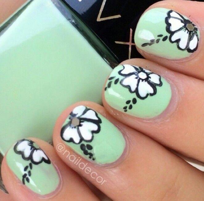 13 best Manicure en agua images on Pinterest | Agua, Uñas bonitas y ...
