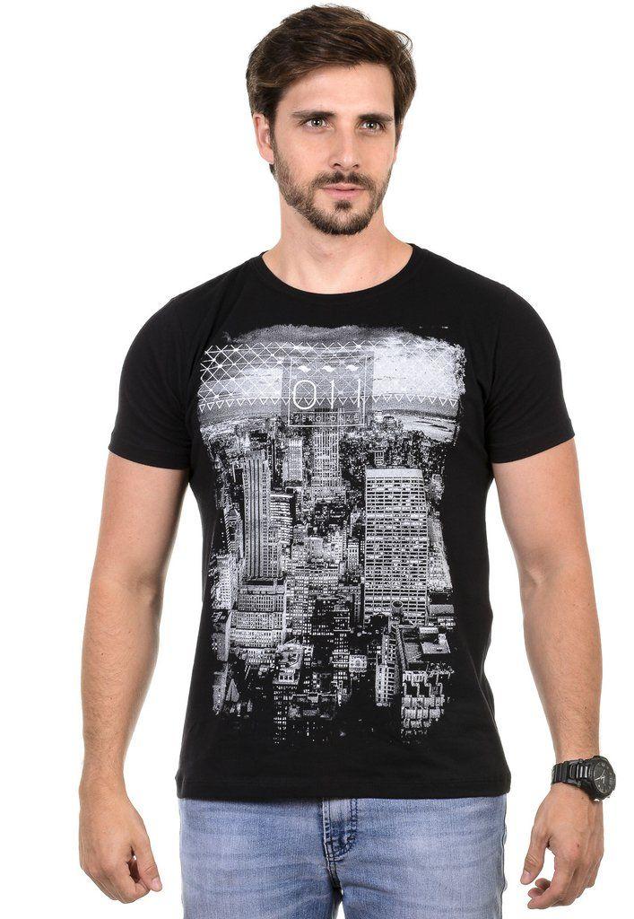 Camiseta Masculina Zero Onze