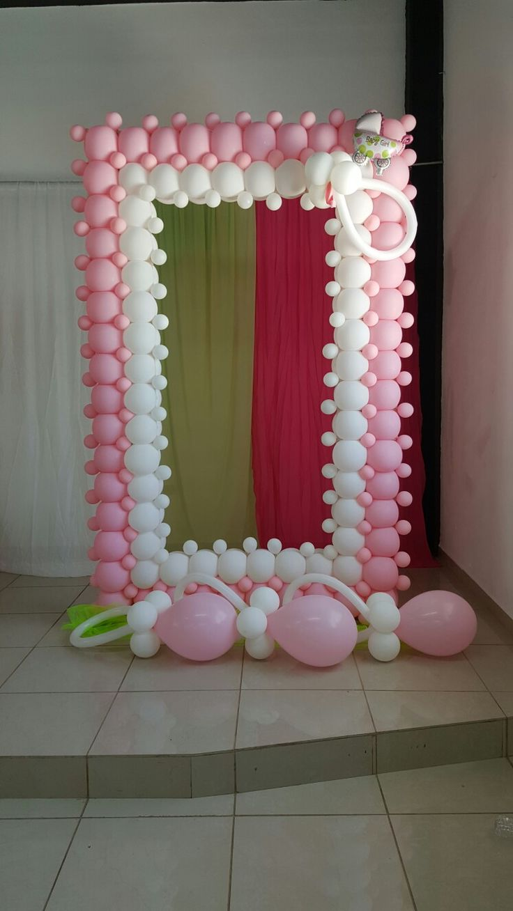 2232 best balloon ideas images on pinterest balloon for Decoracion con marcos