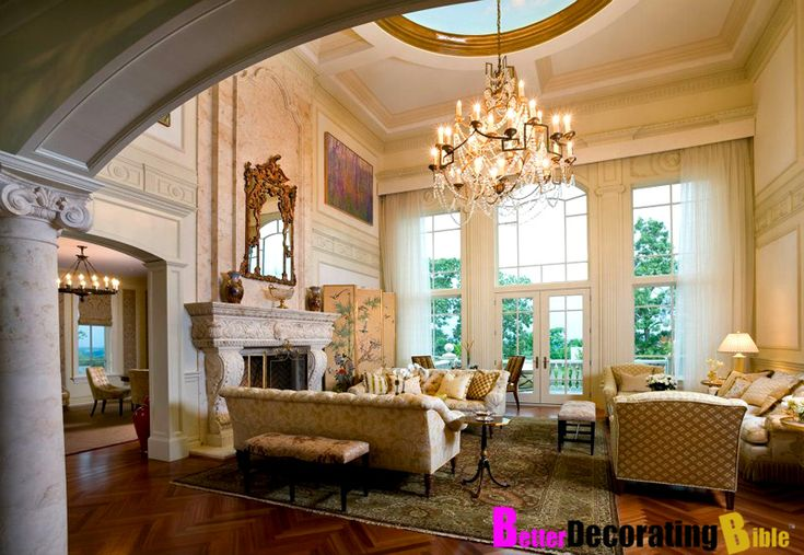 Rich houses interior style homes of the rich the web s luxury real estate blog design - Blog interior design ...
