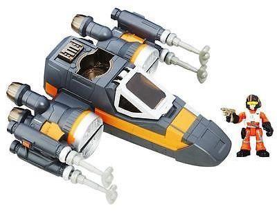 Star Wars Playskool Heroes Galactic Heroes Poe's X-Wing Fighter