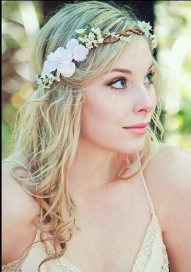 Bohem Wedding Fl Headpiece