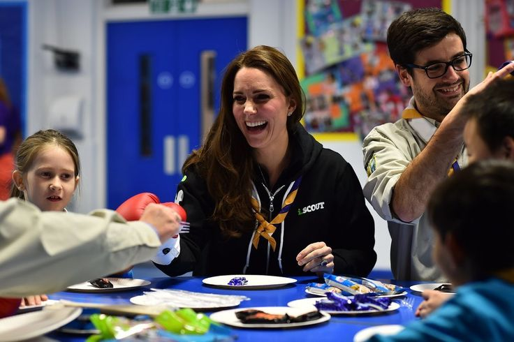 Kate Middleton Visits 23rd Poplar Beaver Scout Colony | POPSUGAR Celebrity