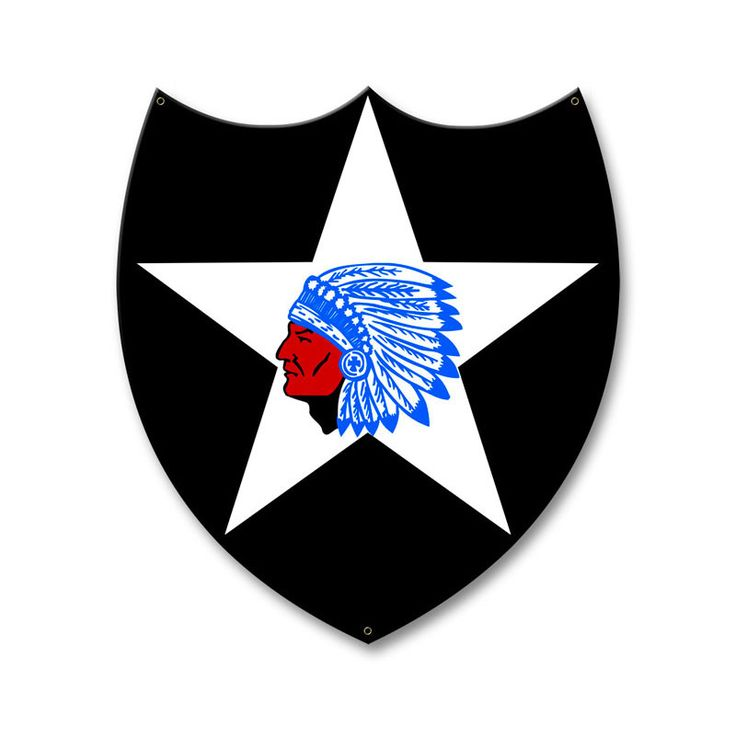 From the Altogether American licensed collection, this 2nd Infantry Division…