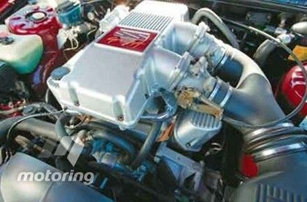 VN SS Group A engine bay