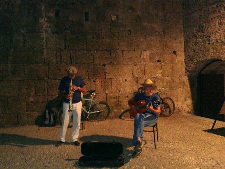 Jazz in the castle.