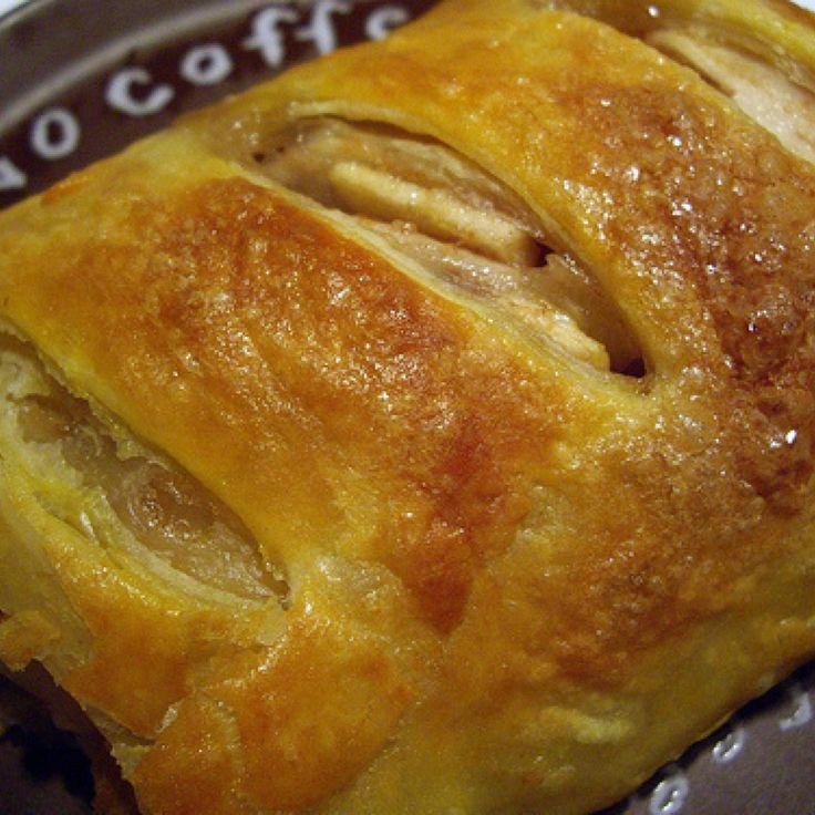 Real German Apple Strudel Recipe | Just A Pinch Recipes -  Pat's Story  This recipe was brought over from   Germany by my Great Aunt Martha Mueller. Hope you enjoy this recipe as much as my family does.  Great topped with ice cream, whipped cream or milk like my Uncle did.