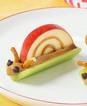 Cute idea for kid snacks