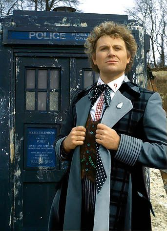 Mr Colin Baker in what could have been.