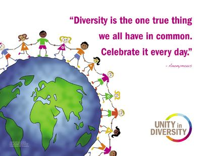 Unity in Diversity: A Laminated Poster Set