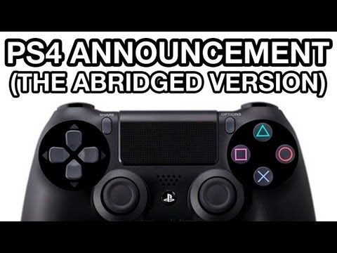 PS4 Announcement - Abridged Version (hilarious if ya saw the original conference)