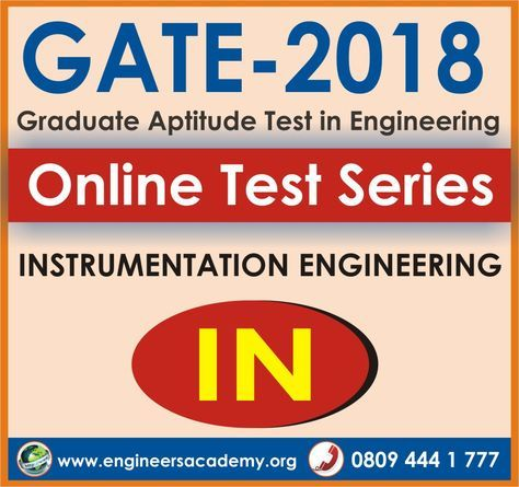 Engineers Academy providing best of all India online GATE preparation and mock test for GATE-2018 computer science, chemical, instrumentation, electronics & communication, mechanical, civil and electrical engineering branches. For more information about online GATE preparation call us now: 8094441777.