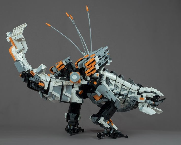 This Horizon Zero Dawn LEGO Thunderjaw Looks Amazing