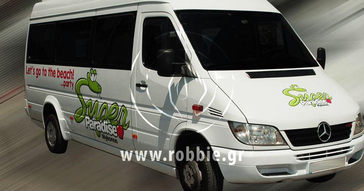 Super Paradise Mykonos / Σήμανση οχημάτων // #Αυτοκόλλητα_Vector #Μερική_Κάλυψη #Σήμανση_Οχημάτων #Ψηφιακές_Εκτυπώσεις #robbieadv
