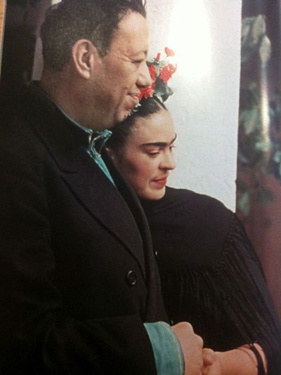 Frida and Diego remarried