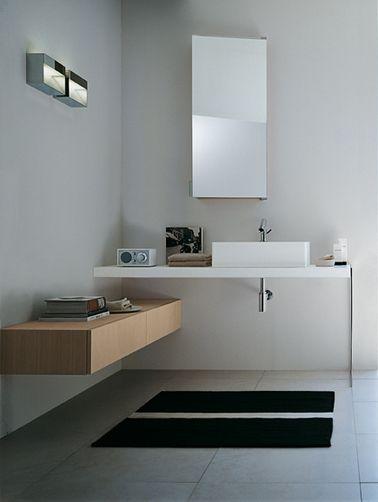 Agape: lavabo+mensola+ cassettiera separata