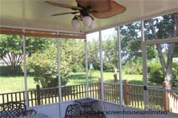 Screened in Porch Kits   another screen porch enclosure from ScreenHouses Unlimited