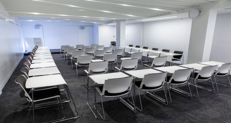 Classroom into the University of London in Paris, France