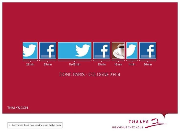 Thalys, un voyage tout en réseaux sociaux