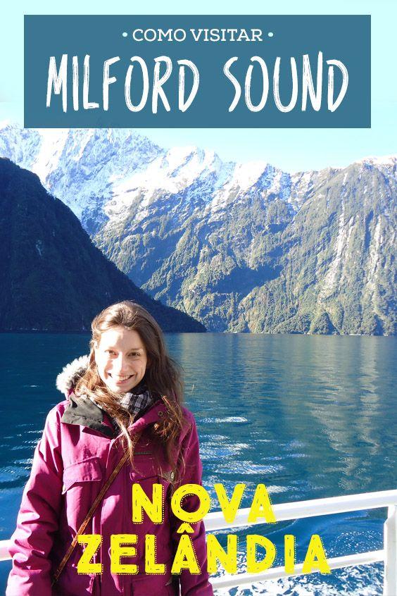 A atração natural mais visitada da Nova Zelândia: Milford Sound! Parece fácil chegar lá de carro, mas não é não!! Veja as dicas da estrada e valores!
