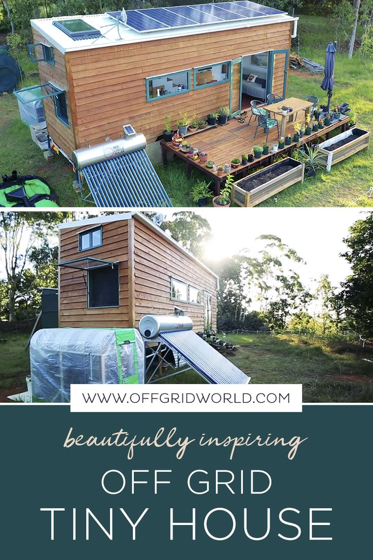 This Tiny House is Off Grid Perfection!
