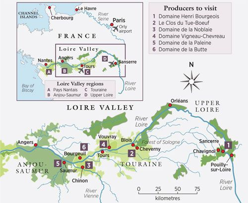 how to say loire valley in french