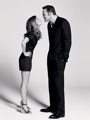 Vince Vaughn and Jennifer Aniston; The Breakup one of my favorite movies 1) bc the actors, seriously love Vince 2) the hidden message. Never let momentum or pride trump LOVE!