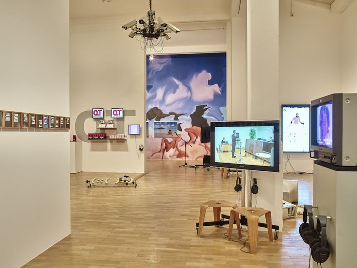 Electronic Superhighway 2016-1966. Installation view, Whitechapel Gallery, London, 2016. Foto: Stephen White.