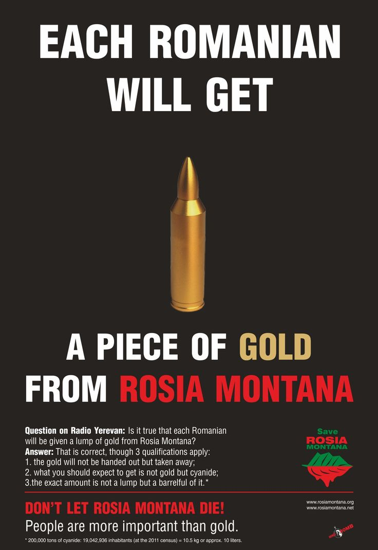 Gold from Rosia Montana