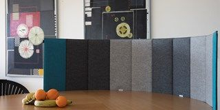 Wool felt, felt for furnishings, table partitioning, portable screen, screen work in peace, desktop screen, filter screen, baffle, table share,