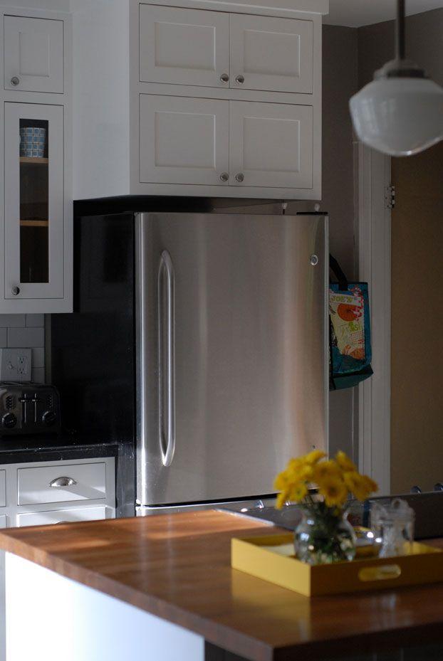 17 best images about refrigerator cabinet ideas on pinterest shelves craftsman cottage and - Above kitchen cabinet storage ...