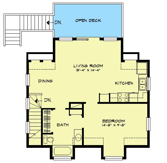 Plan W46011HC: Carriage, Narrow Lot House Plans & Home Designs