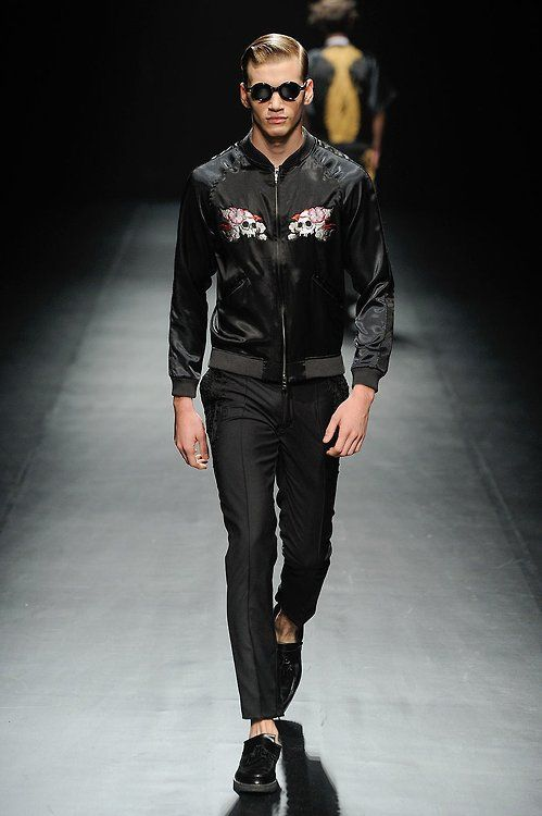 Christian Dada souvenir jacket | Draped in technical ...