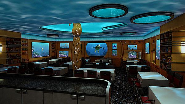 pictures of disney fantasy cruise ship | Interactive animated characters will play a major role at the Animator ...