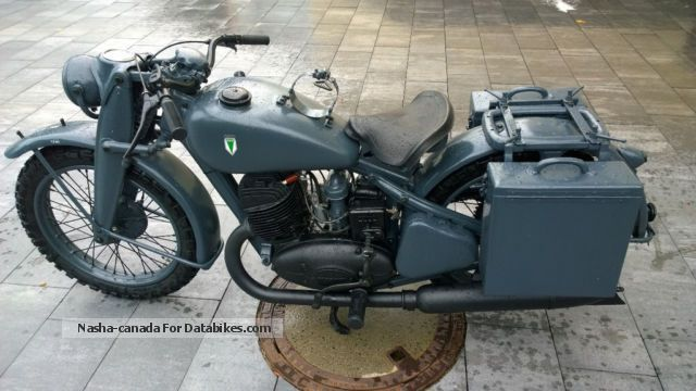1944 DKW NZ500 Motorcycle Motorcycle photo
