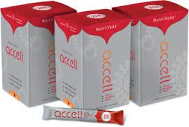 """Discover the joy of healthy, balanced energy and vitality! Optimize your body's ability to burn calories by targeting the three pillars of weight loss - plus a bonus energy boost. Just one packet of Accell enhances your metabolism, digestion, energy and alertness. Accell ensures just the right amount of boost without the synthetic ingredients and """"crash and burn"""" effect you get from soda and most energy drinks. Contact Verve Life on info@vervelife.com.au for more information."""