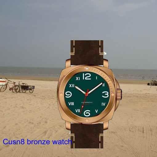 Cusn8 brozne watch , custom design and logo