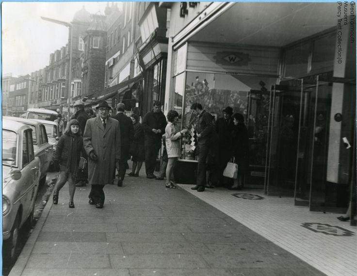 Woolworths, Great Yarmouth, April 1971.