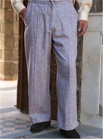 SHUKR Canada | Linen Tucked Pants