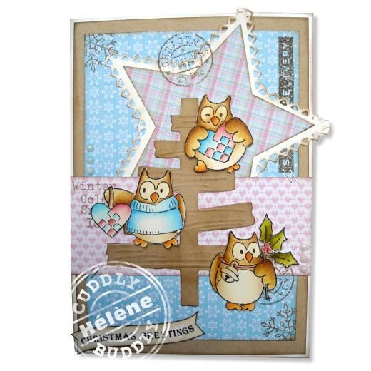 Xmas Owls 2 < Ideas | Cuddly Buddly Crafts