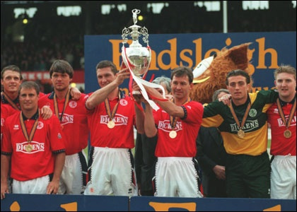 Boro 1st Division (not Premier League) Champions 1995