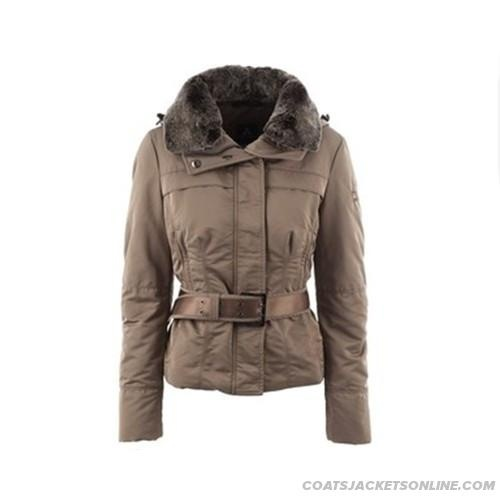 Peutery Outlet Women Paradigma Beige Jacket