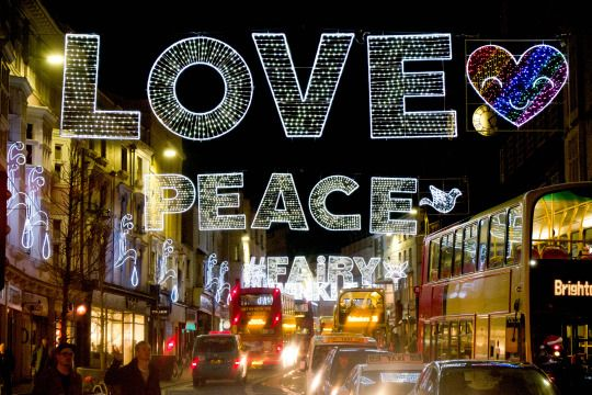 Day 518 of 'A Photograph Every Day For The Rest Of My Life' Saturday 24th December 2016 'Christmas Lights' Today's photo is of the Christmas lights in Brighton City Centre this evening which have a real 'feel good' factor about them. A range of Gill's images are available to purchase in special edition at www.gillcopeland.com