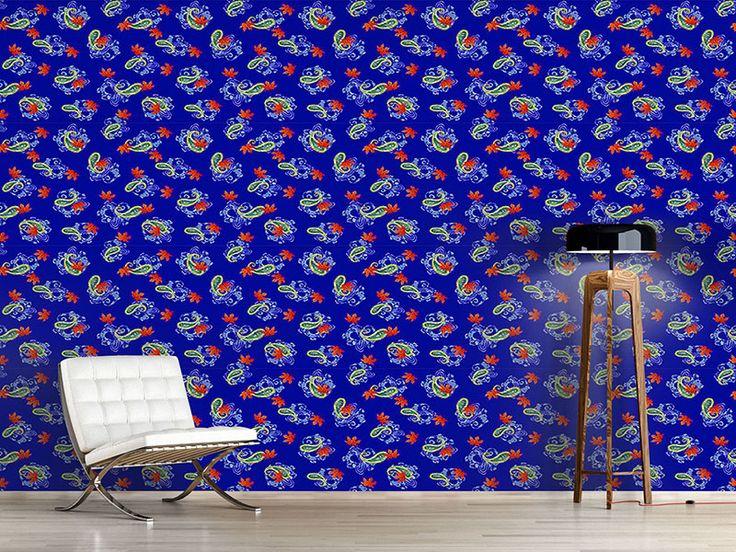 Die besten 25+ Paisley tapete Ideen auf Pinterest Moderne - wohnzimmer tapeten ideen braun