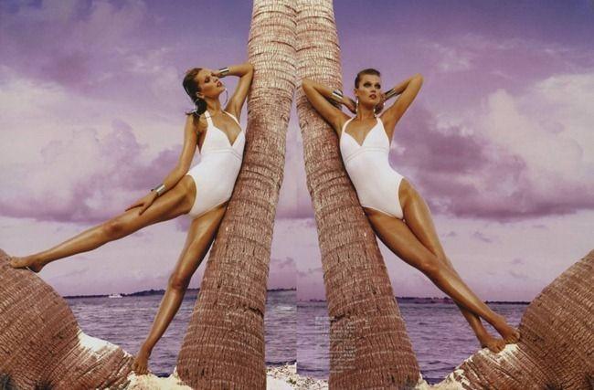 Seeing doubleTony Garrn, Tropical Princesses, Francois Nars, Auguste 2012, Fabulous Fashion, Fashion Photography, Japan Auguste, Fashion Editorial, Vogue Japan